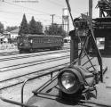 Sacramento Northern Fan Trip Yuba City June 1962