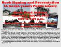Book Signing and Presentation South Bend, Indiana